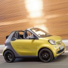 Noul smart fortwo cabrio: Summer in the city